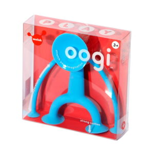 Oogi (albastru) - Omuletul flexibil cu ventuze (MK43102)