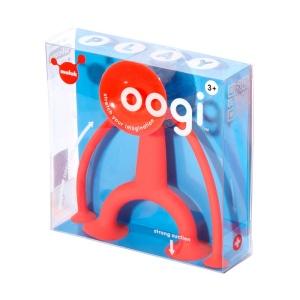 Oogi (rosu) - Omuletul flexibil cu ventuze (MK43101)