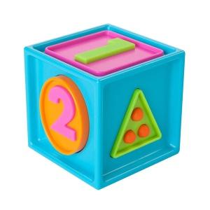 Cubul Smarty pentru bebelusi Fat Brain Toys (FBTFA179-1)