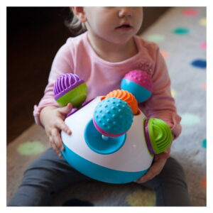 Joc tactil pentru bebelusi Klickity Fat Brain Toys (FBTFA149-1)