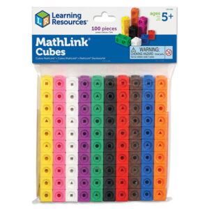 Invatam matematica cuburi conectabile (100 piese) (LER4285)