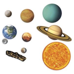 Sistem solar magnetic (set gigant) (LER6040)