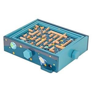 Joc de echilibru labirint cu bile (4273-ME)