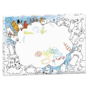 Rama creativa de colorat si personalizat - Pisicile (MON-0067)