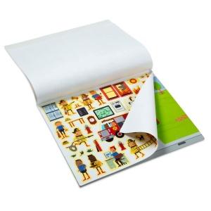 Set autocolante reutilizabile – Orasul meu (200 stickere) (MD9114)