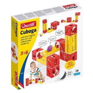 Cuboga - joc de constructie traseu din cuburi (Q6504)