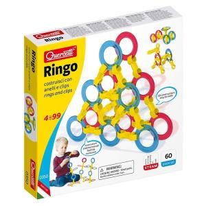 Ringo - set de constructie cu inele (60 de piese) (Q0350)