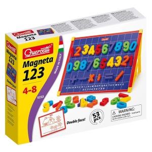 Tabla magnetica cu cifre colorate (53 piese) (Q5213)