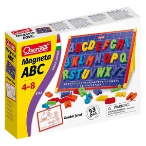 Tabla magnetica cu litere colorate (53 piese) (Q5211)