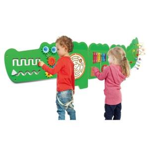 Jucarie de perete multifunctional XXL - Crocodil (187 cm) (VI-4191)