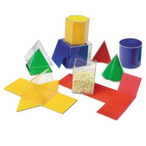 Forme geometrice pliabile 3D (16 piese) (LER0921)