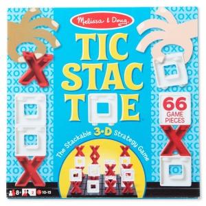 Tic Stac Toe - joc X si O versiune 3D (MD2097)