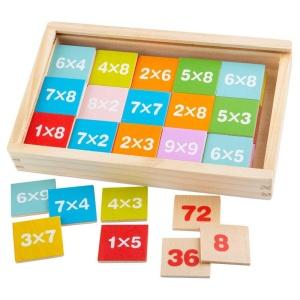 Inmultirea joc din lemn - BigJigs (BJ538)