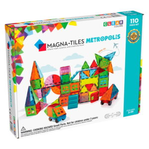 Magna-Tiles Metropolis set magnetic (110 piese) (19110-MGT)