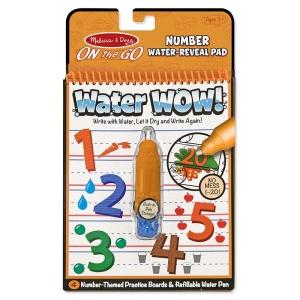 Carte de colorat cu apa - Numerele (MD5399)