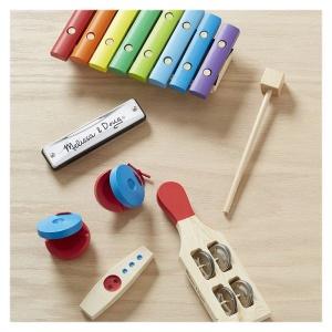 Set de instrumente muzicale din lemn (MD1318)